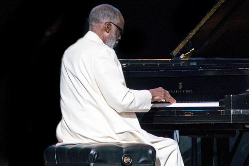 Ahmad Jamal at Freihofer's Jazz Festival at Saratoga Springs