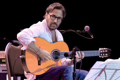Al Di Meola at Freihofer Jazz Festival at Saratoga Springs