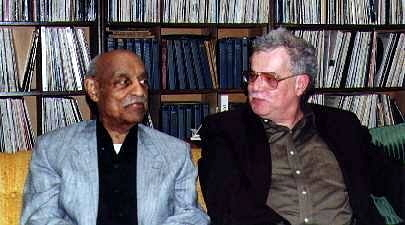 Benny Carter and Mel Martin