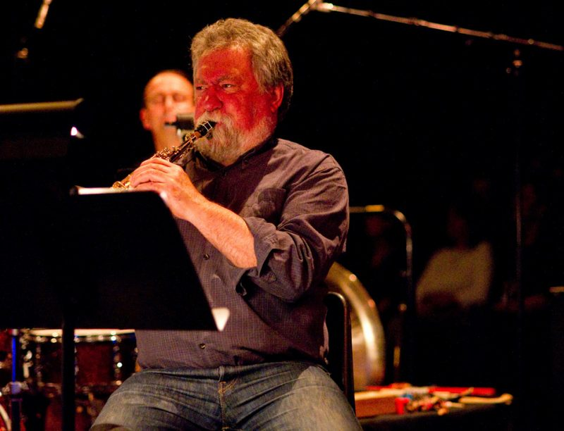 Evan Parker performing at 2010 TD Vancouver International Jazz Festival