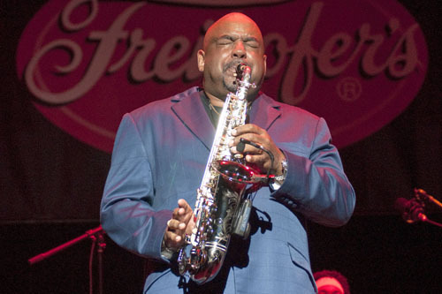 Gerald Albright at Freihofer Jazz Festival at Saratoga Springs