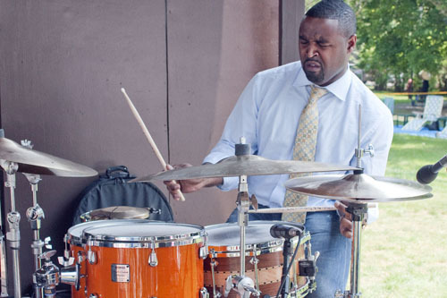 Kendrick Scott at Freihofer's Jazz Festival at Saratoga Springs