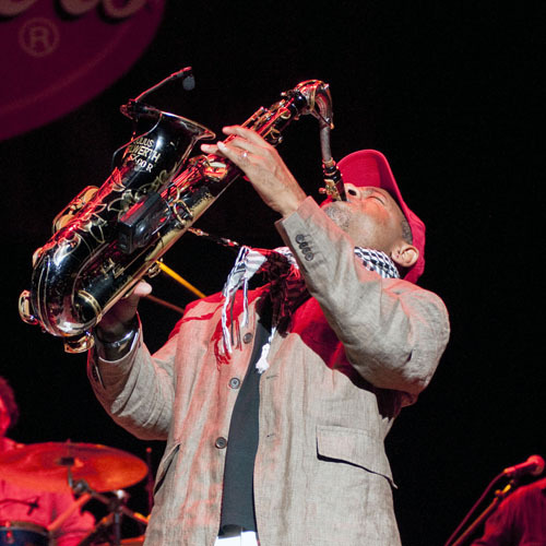 Kirk Whalum at Freihofer Jazz Festival at Saratoga Springs