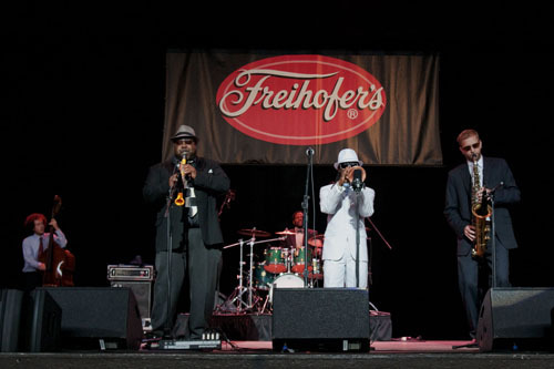 Mario Abney Quartet at Freihofer's Jazz Festival at Saratoga Springs