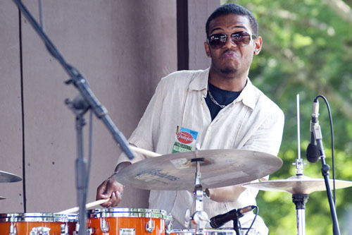 Mark Whitfield Jr. at Freihofer's Jazz Festival at Saratoga Springs