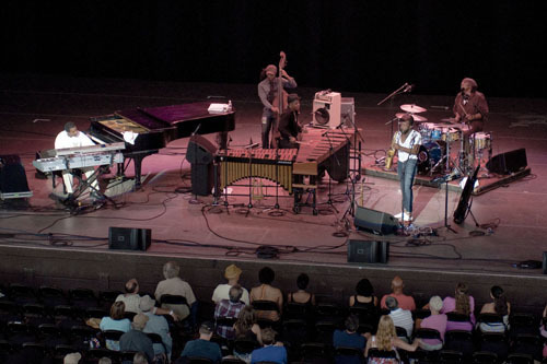 Stefon Harris and Blackout at Freihofer's Jazz Festival at Saratoga Springs