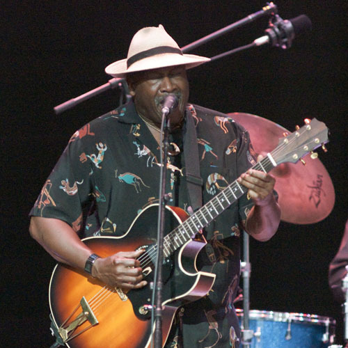 Taj Mahal at Freihofer's Jazz Festival at Saratoga Springs