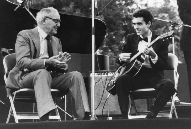 Chris Flory with Benny Goodman