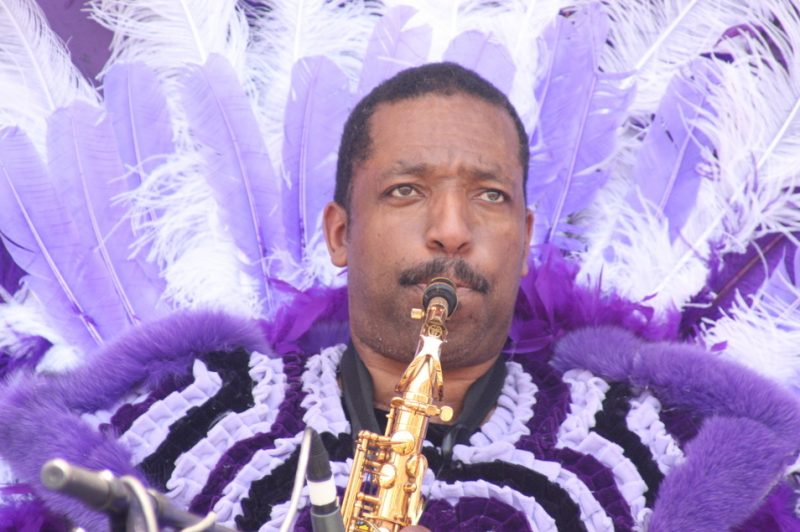 Donald Harrison, Big Chief
