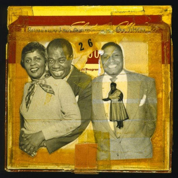 Lucille and Louis Armstrong and (probably) Clarence Williams