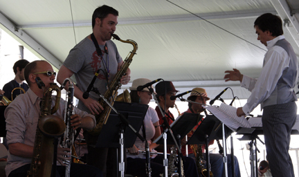 Darcy James Argue's Secret Society at 2010 CareFusion Newport Jazz Festival