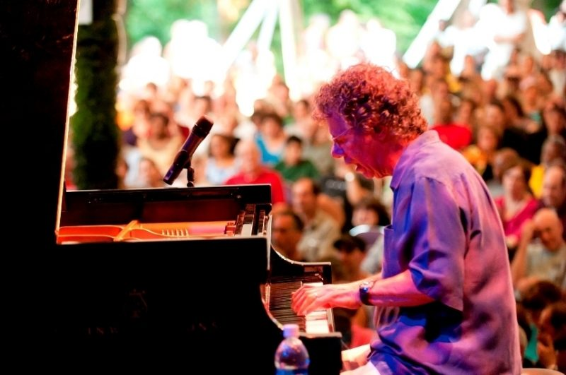Chick Corea performing with his Freedom Band at Caramoor