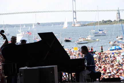 Chick Corea & Freedom Band at 2010 CareFusion Newport Jazz Festival