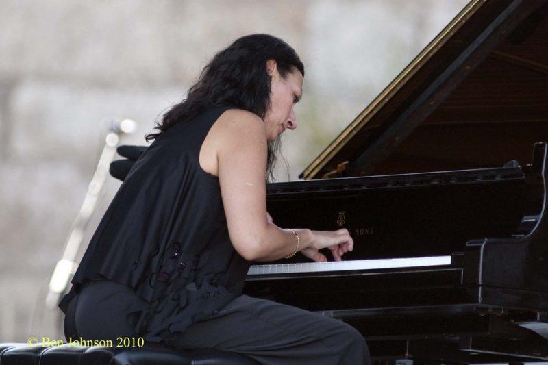 Amina Figarova at CareFusion Newport Jazz Festival