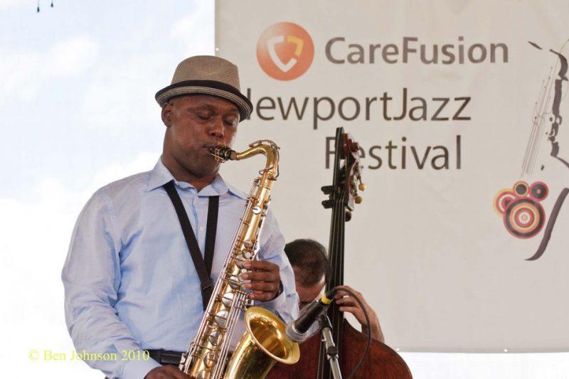 J.D. Allen at CareFusion Newport Jazz Festival