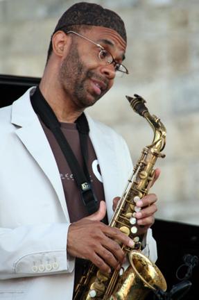 Kenny Garrett at 2010 CareFusion Newport Jazz Festival