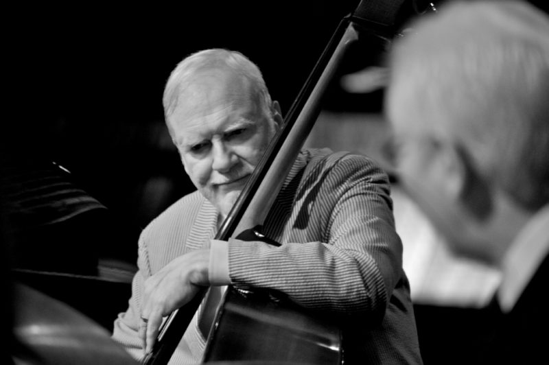 Michael Moore performs with the Dave Brubeck Quartet.