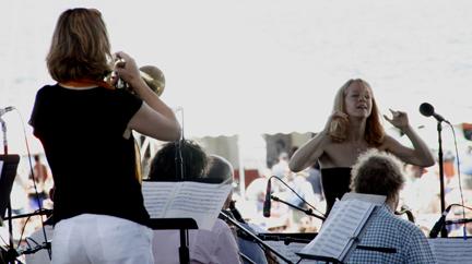 Maria Schneider's Jazz Orchestra at 2010 CareFusion Newport Jazz Festival