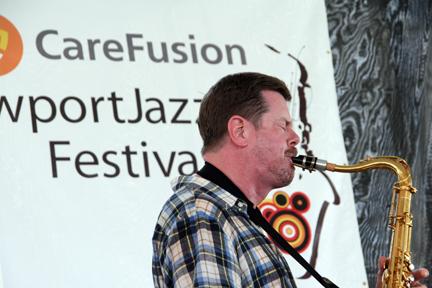 Ken Vandermark at 2010 CareFusion Newport Jazz Festival