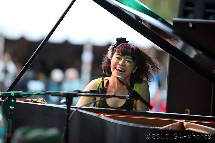 Hiromi at the 2010 Telluride Jazz Celebration