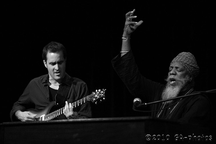 Dr. Lonnie Smith at the 2010 Telluride Jazz Celebration