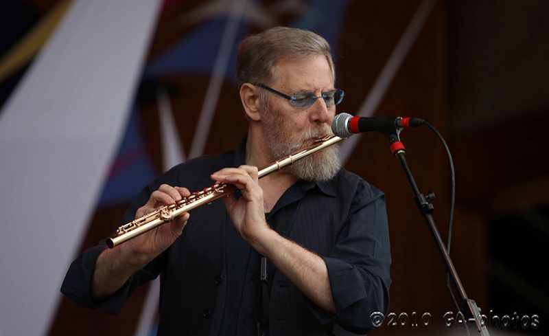 Lew Tabackin at the 2010 Telluride Jazz Celebration