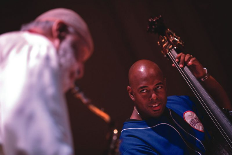 Every jazz musician looks up to Sonny Rollins, including the brilliant young bassist, Christian McBride.