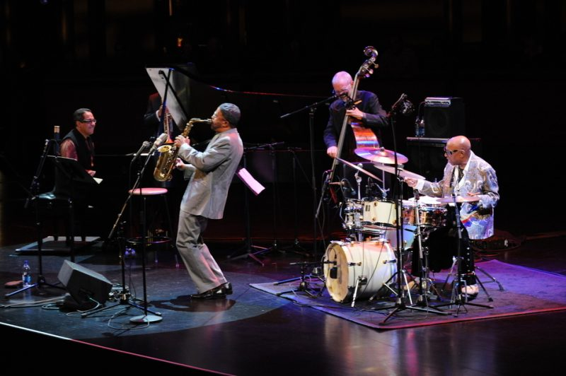 Danilo Perez, Kenny Garrett and Dave Holland with Roy Haynes at Jazz at Lincoln Center