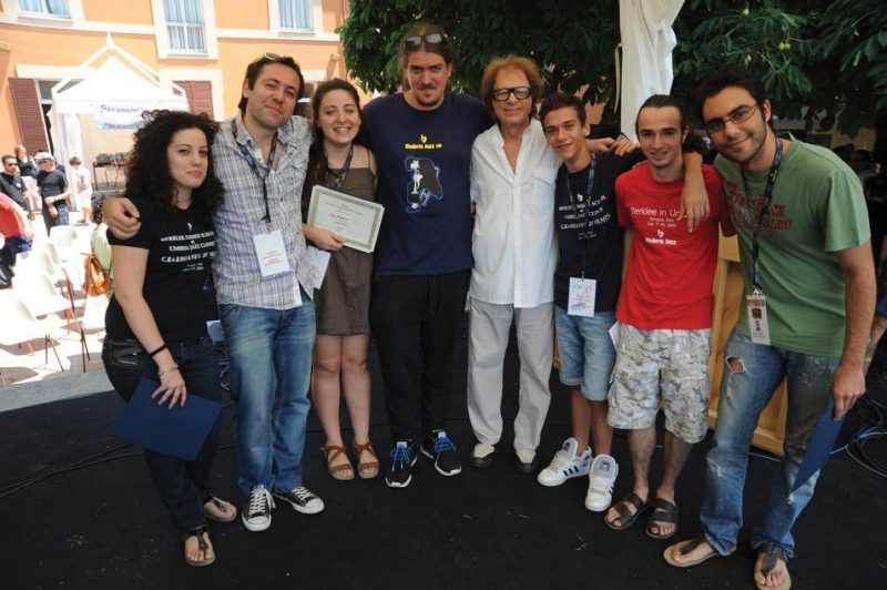 Giovanni Tommaso with award-winning students