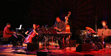 Donal Fox and band at 2010 Tanglewood Jazz Festival