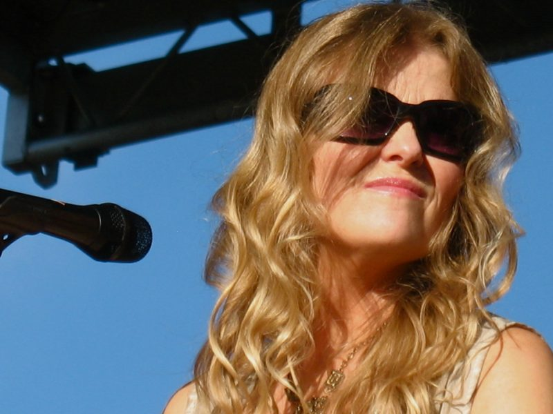 Tierney Sutton performing at the 2010 Rosslyn Jazz Festival