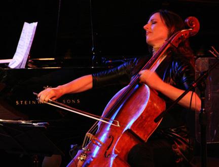 Maya Beiser at 2010 Tanglewood Jazz Festival