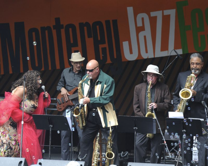 Performance by John Firmin & the Johnny Nocturne Band at 2010 Monterey Jazz Festival
