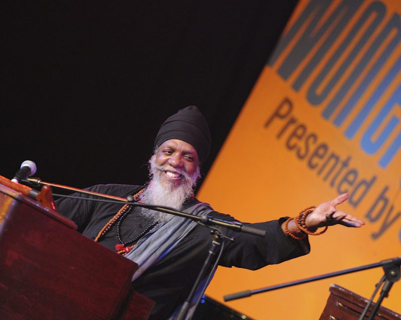 Performance by Dr. Lonnie Smith at 2010 Monterey Jazz Festival