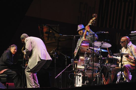 Performance by Chick Corea, Kenny Garrett, Christian McBride and Roy Haynes at 2010 Monterey Jazz Festival image 0