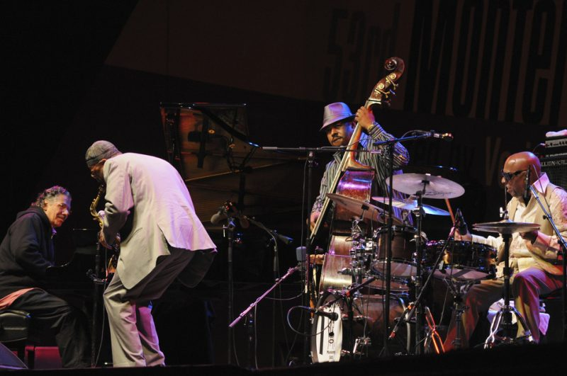 Performance by Chick Corea, Kenny Garrett, Christian McBride and Roy Haynes at 2010 Monterey Jazz Festival