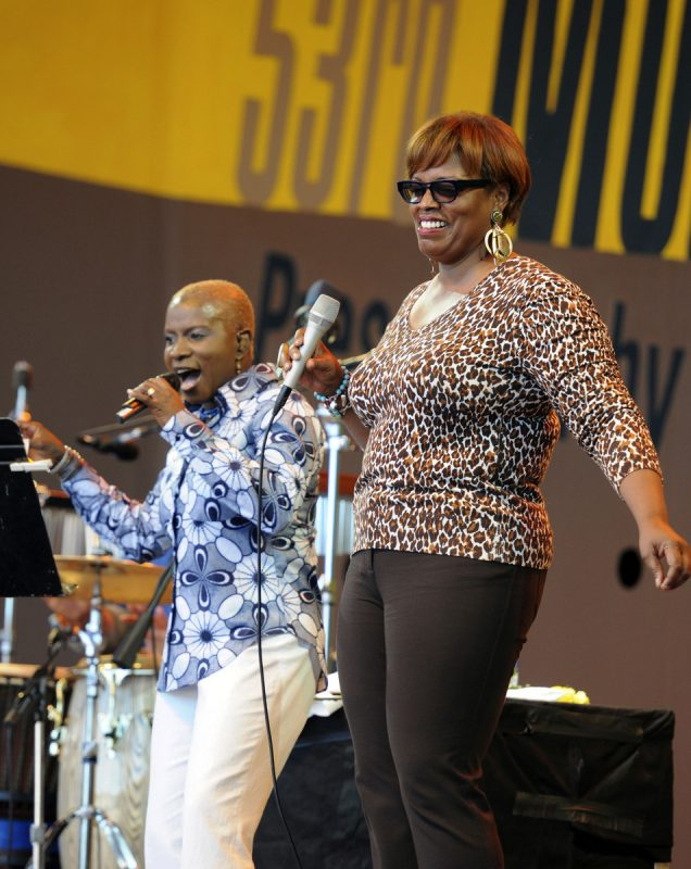 Performance by Angelique Kidjo and Dianne Reeves at 2010 Monterey Jazz Festival