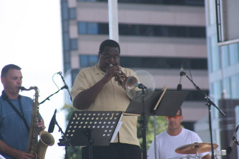 Tom Williams and Afro Bop Alliance at the 2010 Rosslyn Jazz Festival