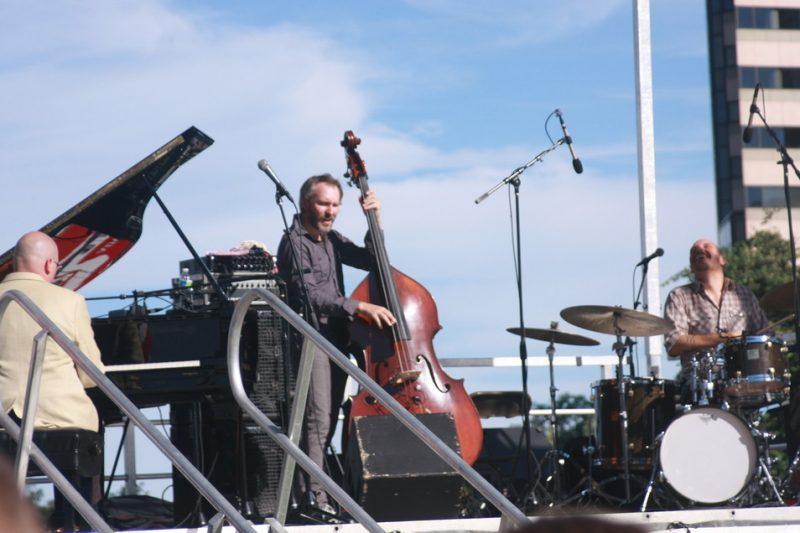 The Bad Plus at the 2010 Rosslyn Jazz Festival