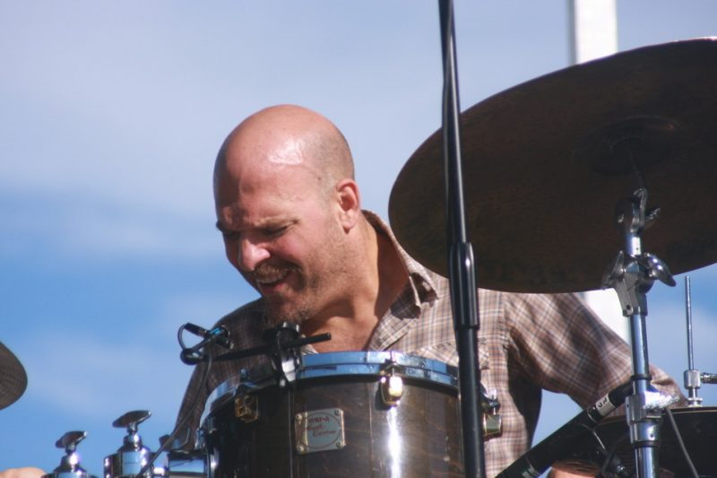 Dave King of The Bad Plus at the 2010 Rosslyn Jazz Festival
