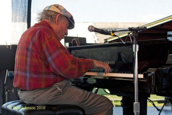 George Wein at CareFusion Newport Jazz Festival image 0