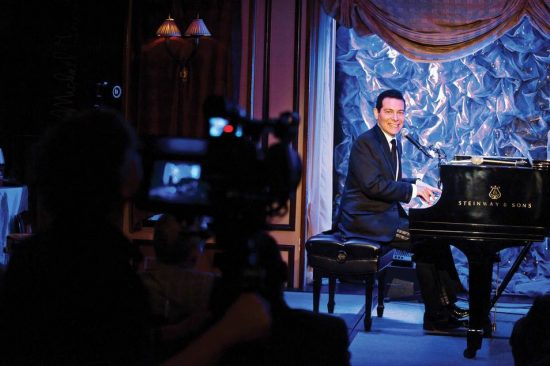 Michael Feinstein taping show for PBS image 0