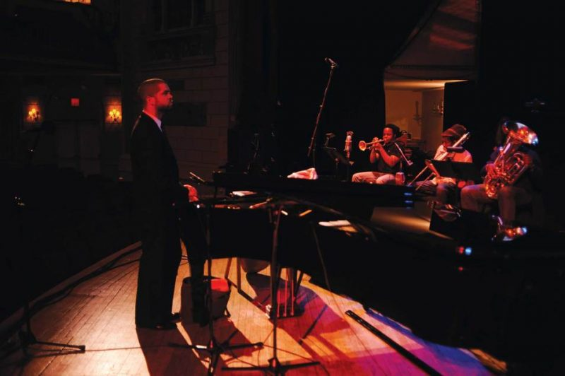 Jason Moran and In My Mind personnel at Town Hall in Feb. 2009
