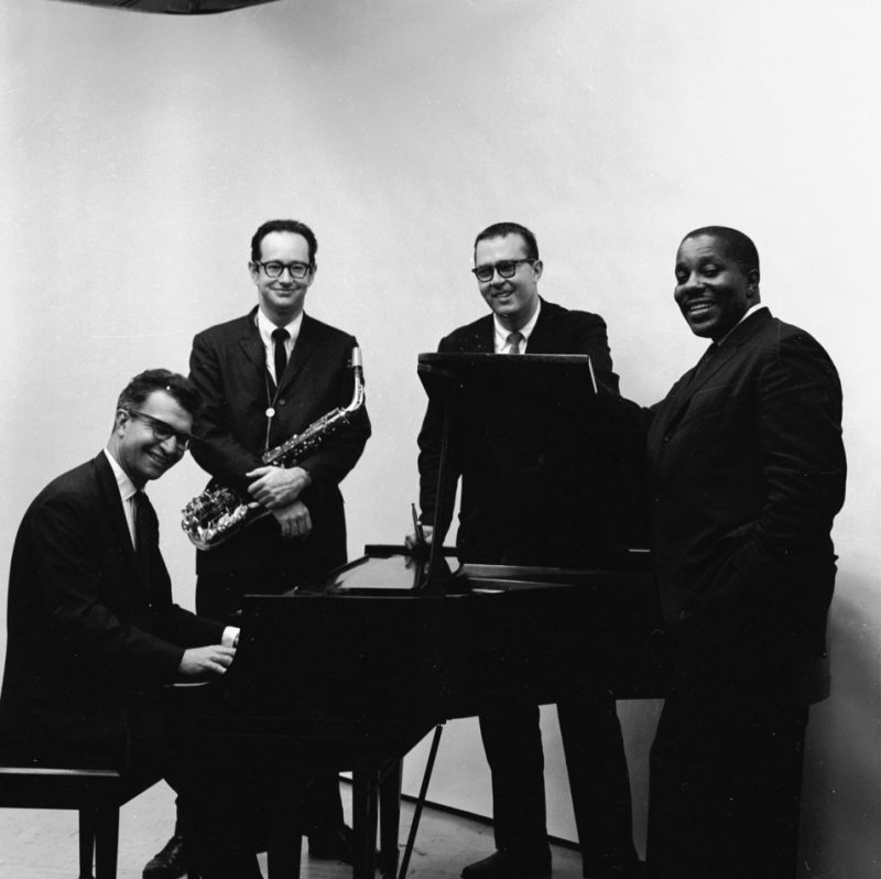 Dave Brubeck Quartet with Brubeck, Paul Desmond, Joe Morello and Eugene Wright
