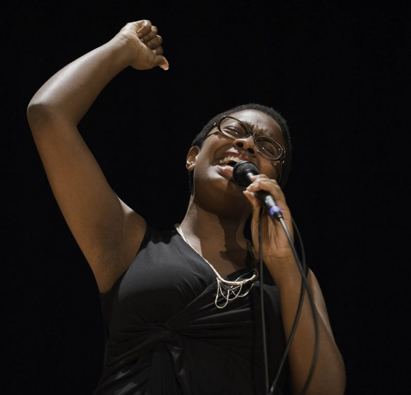 First Place winner Cecile McLorin Salvant