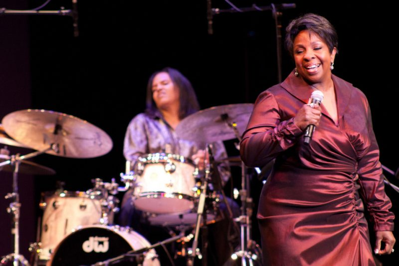 Gladys Knight, with Terri Lyne Carrington