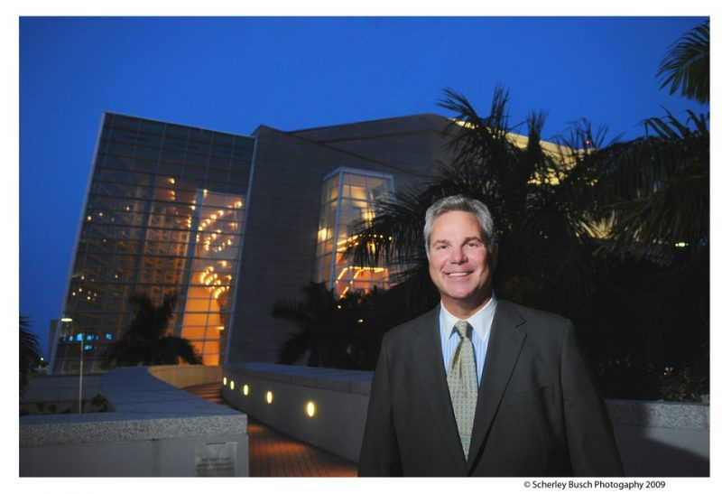 M. John Richard, president and CEO of Adrienne Arsht Center in Miami