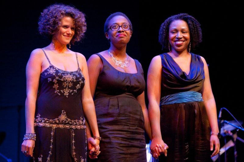 Three Finalists (from left): Cyrille Aimee, Cecile McLorin Salvant, Charenee Wade