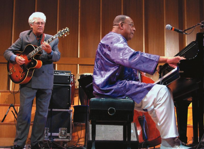 Larry Coryell & Chucho Valdes: The two performed together at the opening night of the Havana International jazz Festival.   Shows were held in the Teatro Amadeo Roldan Theatre.  Valdes is the artistic director for the festival.