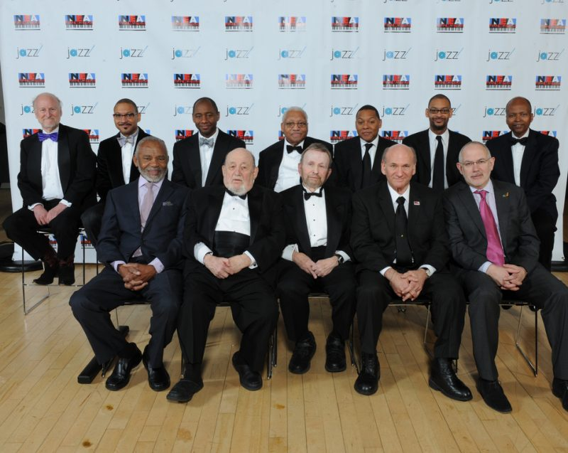 2011 NEA Jazz Masters, along with Rocco Landesman and Wayne Brown from NEA and Adrian Ellis from Jazz at Lincoln Center